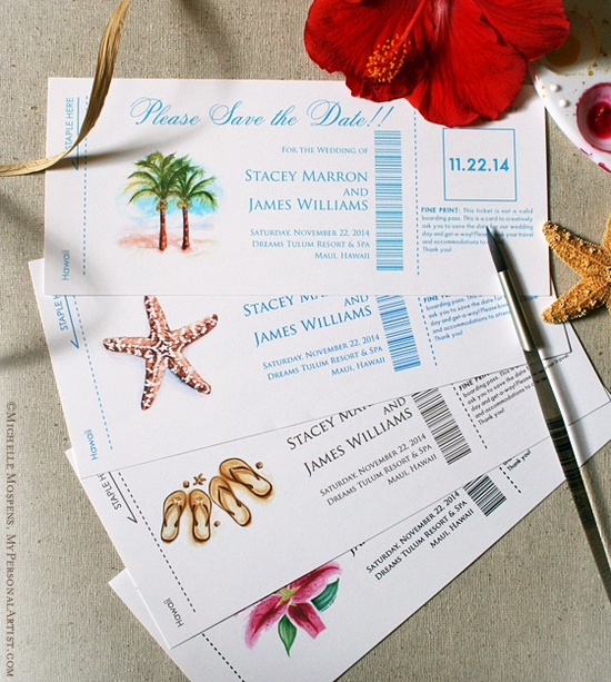 14 Fun And Creative Wedding Invitation And Save-the-Date