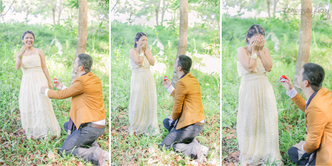 An Engagement Shoot and Surprise Wedding Proposal In One