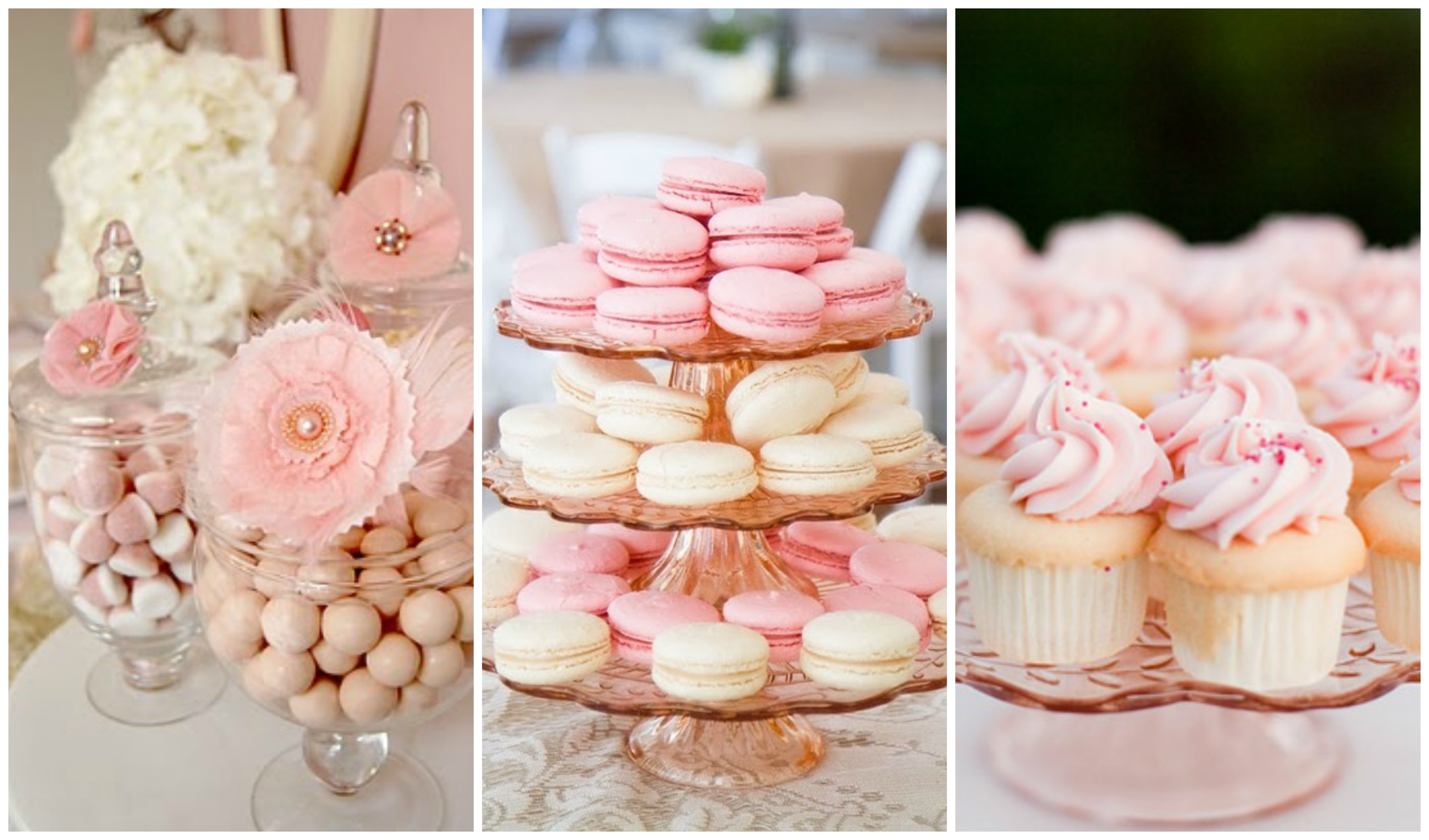 Pink Gold Sweets