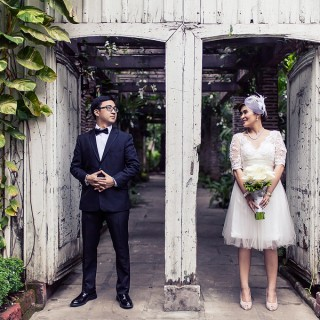 A Classic Vintage Civil Wedding by JHG Photography