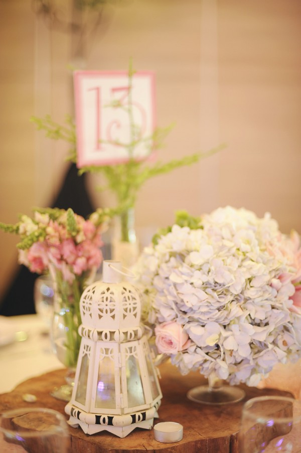 Shabby Chic Table Centerpiece