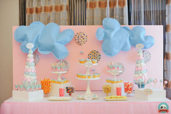 Hot Air Balloon Birthday Party From Project Jdg One