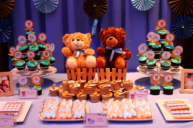 Teddy Bear Themed Baptism By Kids Party Hub One Charming Day