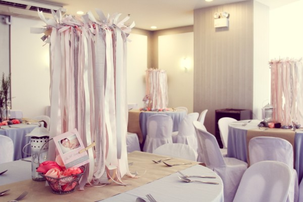 Lillies and Flowers Themed Christening - 14