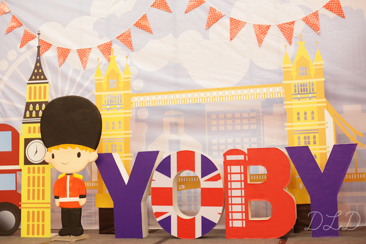 Yoby S London Themed First Birthday Party One Charming Day