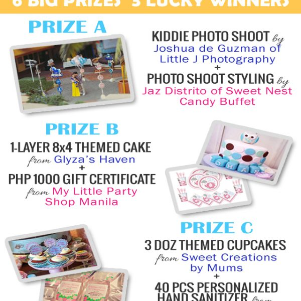 1st Blog Anniversary Giveaway