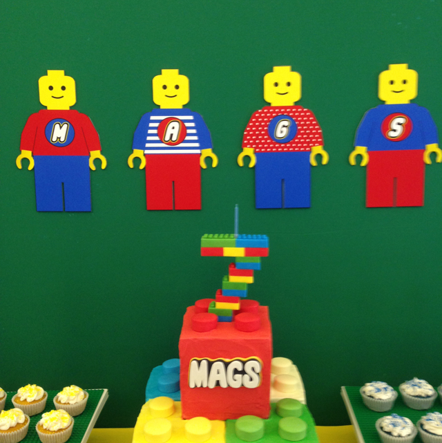 Lego Themed 7th Birthday Party One Charming Day