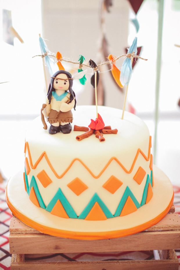 Little Indian Inspired 1st Birthday Party One Charming Day