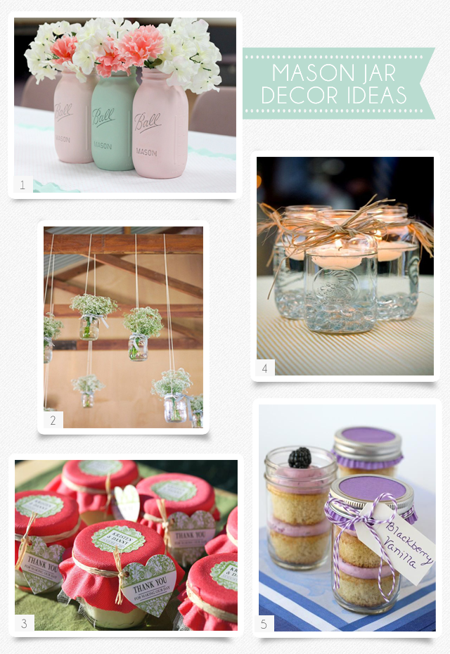Party Ideas To Love Mason Jars One Charming Day