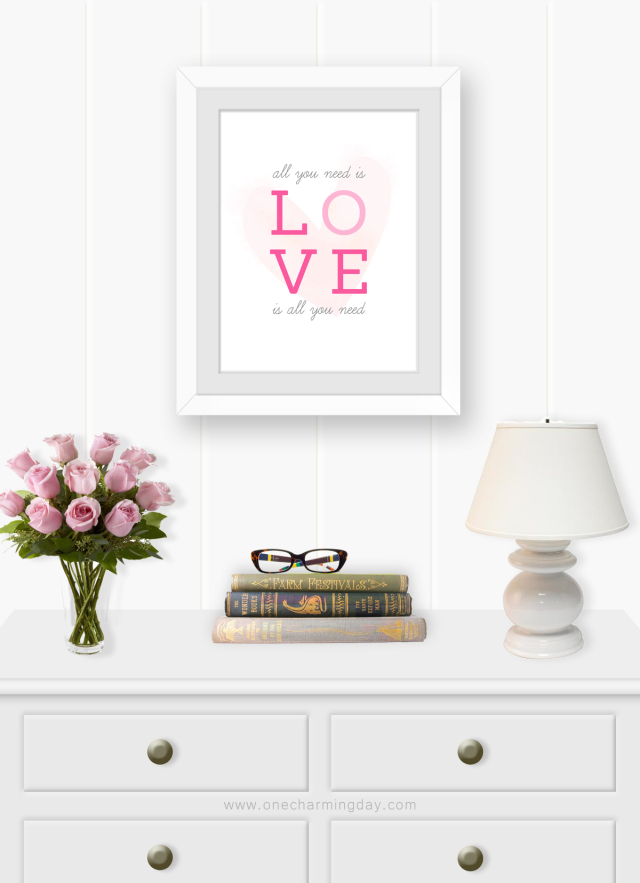 Beatles All You Need Is Love Wall Art